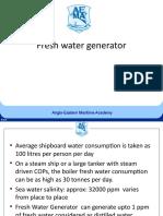 010 Fresh water generator.ppt
