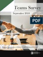 2018 Teams Survey