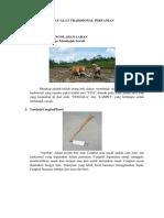 Alat pertanian tradisional