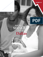 Racial Wealth Divide in Dallas Report