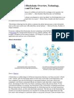 BlockchainOverviewTechnologyApplicationAreasAndUseCases_1
