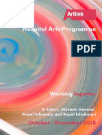 Working Together | Hospital Arts Programme Oct - Dec 2018