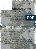 Crystalization of the City