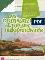 Comienzos Del Uruguay Independiente - El Escolar