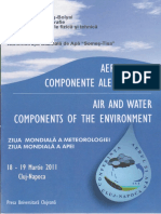 Air and Water Components of the Environment