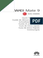 Huawei Mate 9 Qsg Mha-l09 Mha-l29 Weu 7lans