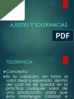 Ajustes y Tolerancias