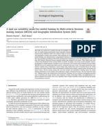 Model Kesesuaian Penggunaan Lahan Untuk Pertanian Tadah Hujan Dengan Analisis Pengambilan Keputusan Multi-kriteria (MCDA) Dan Sistem Informasi Geografis (GIS)
