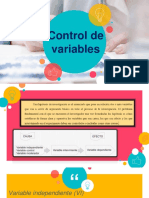 Control de Variables ppt
