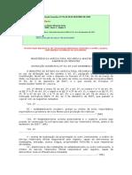 Instrução Normativa Nº 59 de 2009