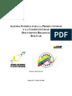 Agenda Competitividad de Bolívar