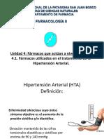 11.Farmacología de La Hipertensión Arterial