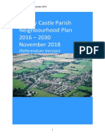 Hanley Castle Neighbourhood Development Plan RV Published Sept 2018
