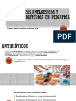 Antibioticos,Anelgesicos y Antiinflamatorios en Pediatría