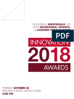 2018 Innovation Awards Program