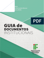 Guia de Documentos Institucionais Do Ifto