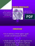 PRESENTACION - TRASTORNOS MENTALES