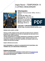NCIS Criminologia Naval - Temporada 13 Latino DESCARGAR EPISODIOS.docx
