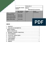 Pr6u2 Determinacion de La Densidad Metodo Del Picnometro