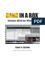 Bandinabox Win 2018 Manual