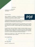 Carta Ester Capella a CGPJ