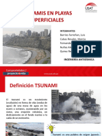 Proyecto i. Tsunami Playas Superficiales