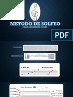Metodo de Solfeo