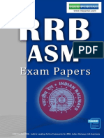 Download RRB Assistant Station Master ASM Previous Year Exam Papers e Book Www.rrbportal.com