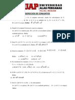 Ejercicios de Conjuntos Uap 2