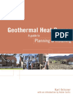 Geothermal Heat Pumps-A Guide for Planning and Installing