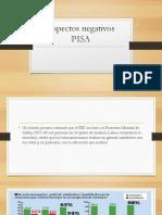 Aspectos Negativos PISA