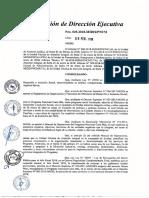 Directiva de Gestión de Recursos Financieros Que Reciben Los Comites de Gestión