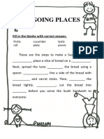 Worksheet Going Places Ls