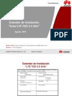 Estandar de Instalacion LTE TDD 3.5GHz v2