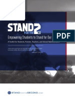 Stand for the Second Student Organizer Toolkit