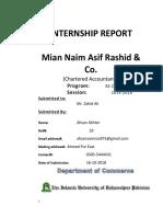 Internship Ahsan Akhter