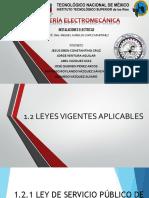 1.2 Leyes Vigentes Aplicables