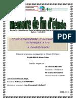 ETUDE D'INGENIERIE D'UN IMMEUBLE R+4