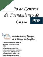 Diseño de Centros de Faenamiento de Cuyes