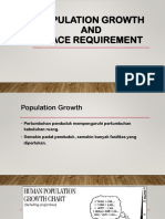 #3 - Population Growth & Space Requirement
