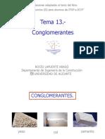 Tema 13.- Conglomerantes 2007-2008.pps
