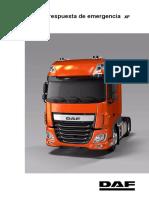 DAF XF Emergency Reponse Guide XF Euro 6 PUB00778 1 ES