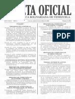 Gaceta Oficial 41.501, precios acordados para 56 principios activos de medicamentos