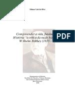 As Contibuições de Dilthey Para Fundamentação Das Ciências Humanas.