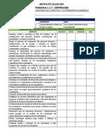 Instrumento de Evaluación Director