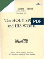 SDARM Bible Study Qtr. 3 1955