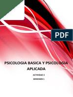 Psicologia Basica y Aplicable