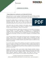 04-10-2018 Trabaja Sedesson en coordinación con Alcaldes del Río Sonora