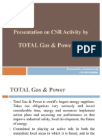 Presentation on CSR