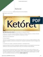 Recitado Del Ketoret